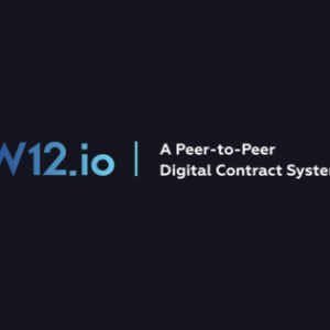 W12.io has successfully completed the first early stage of its pre-sale