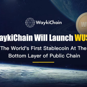 WaykiChain Stablecoin WUSD: Dark Horse Being Visible to Tether, Maker or the Others