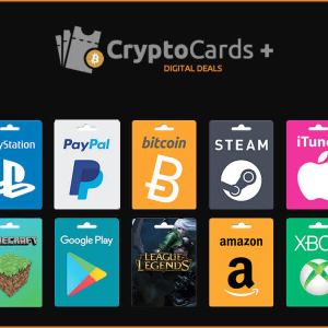 Purchase Popular Gift Cards With Cryptocurrency Using CryptoCardsPlus
