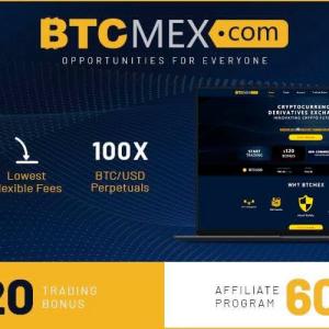 Derivatives Exchange BTCMEX Launches Lucrative Affiliate Program and $120 Trading Bonus
