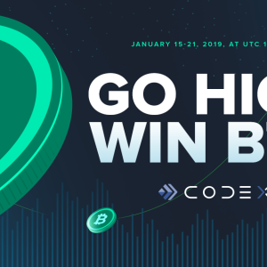 CODEX Exchange Starts BTC Giveaway and Broadcasts It by Sending Messages on a Blockchain