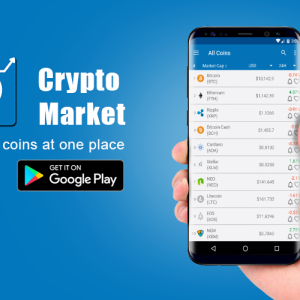 Crypto Market App – Cryptocurrency Price Alerts, Charts, News and Much More