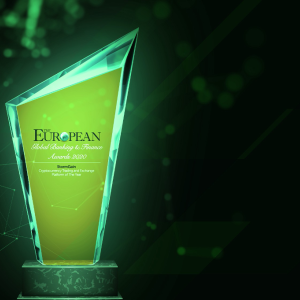 StormGain Crowned 'Cryptocurrency Trading and Exchange Platform of the year'
