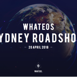 WhatEOS holds successful Sydney Roadshow, looks towards Melbourne