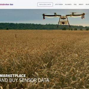 DataBroker DAO Launches IOT Data Marketplace