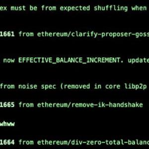 Ethereum 2.0 Spec Launches