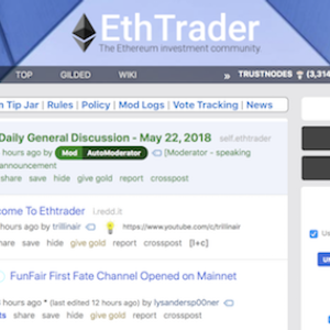 Ethtrader Suddenly Has 70,000 Users Online at the Same Time