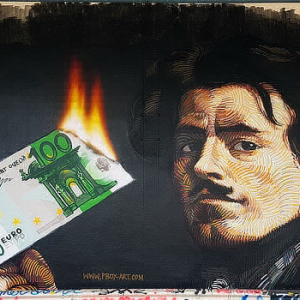 Street Artist Makes $12,000 in Bitcoin Donations