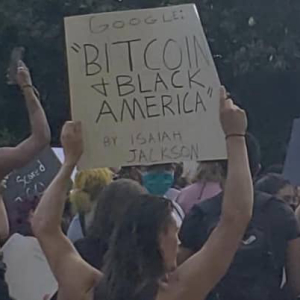 Protestors Go Bitcoin Amid Outrage in the United States