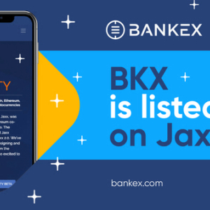 Press Release: BKX Tokens are now Available in Jaxx Liberty