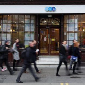 Giant British Bank on its Knees